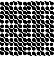 abstract background black connected dots vector image vector image