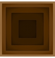 Abstract background with brown paper layers vector image vector image
