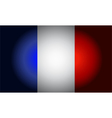 French black flag vector image vector image
