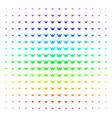 horned helmet shape halftone spectral effect vector image vector image