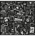 Medicine - doodles set vector image