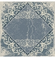 old worn vintage background card vector image vector image