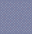 retro vintage polka dot seamless pattern simple vector image
