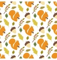 Seamless forest pattern vector image vector image