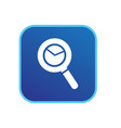 search icon sign vector image
