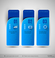 tabs as design elements for business layouts vector image vector image