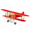 airplane model modelabove object vector image vector image