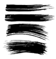 Ink brush strokes background vector image vector image