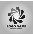 Logo black vector image vector image