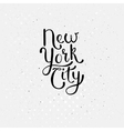 New York City Concept on Dotted White vector image vector image