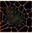 black wall seamless texture vector image