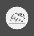iron icon sign symbol vector image vector image