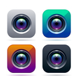 Photo app icon vector image