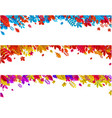 set of autumn banners with beautiful colorful vector image vector image