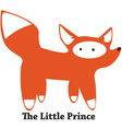 The Little Prince vector image vector image