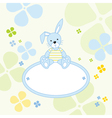 Bunny Rabbit Background vector image vector image