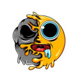 emoticon hungry and cute expression vector image