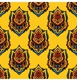 Festive Seamless floral pattern vector image