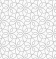 Gray dotted six pedal flowers vector image vector image