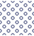 maritime seamless pattern with swim ring icons vector image