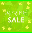 sale butterfly vector image