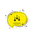 scroll down arrow icon scrolling screen sign vector image vector image
