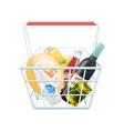 Shopping Basket Concept vector image vector image