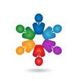teamwork professional business people logo