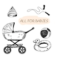 All for babies vector image vector image