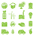 Eco friendly and environmental icons vector image