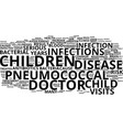 the number one reason for your child s doctor vector image vector image