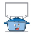 up board kitchen character cartoon style vector image vector image