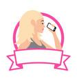 women stylish vector image vector image