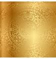 gold background oriental decoration vector image