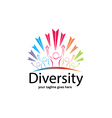 DIverstity Logo vector image vector image