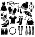 doodle fashion images vector image