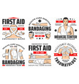 traumatology first aid medical center emergency vector image vector image