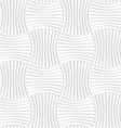 White paper 3D five striped wavy pin will vector image vector image
