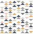abstract triangle seamless pattern geometric vector image vector image