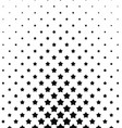 Black white pentagram star pattern background
