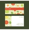 fresh salad horizontal stripe frame pattern vector image vector image