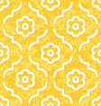 Golden moroccan flowers vector | Price: 1 Credit (USD $1)