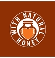 honey logo vector image