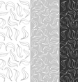 leaves grayscale lt vector image vector image