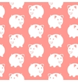 Piggy bank Seamless pattern vector image