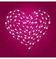 Sperm heart vector image vector image