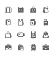 Bags Icons vector image