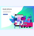 business concept online store vector image
