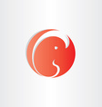 Embryo fetus icon design element