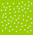 field background with flowers vector image
